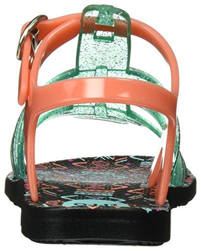 Gioseppo Azart, Sandali Bambina Multicolore (Arancione/Verde/Nero)