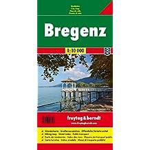 Bregenz, Stadtplan 1:10.000 (freytag & berndt Stadtpläne)
