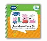 VTech - Libro Jugando con Peppa Pig, comprensión lectora para MagiBook (80-480422)