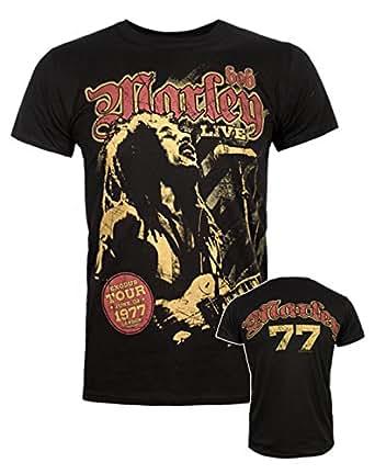 Official Bob Marley Exodus Tour Men's T-Shirt (XXL)