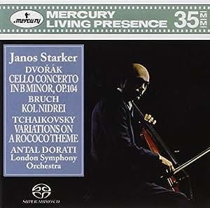 Dvorák : Concerto pour violoncelle en si mineur, Op. 104 - Bruch : Kol Nidrei - Tchaikovsky : Variations sur un thème Rococo