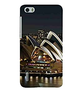 For Huawei Honor 6 beautiful building, beautiful place, city, light Designer Printed High Quality Smooth Matte Protective Mobile Case Back Pouch Cover by APEX