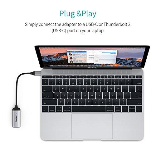 51xschvszlL - [Amazon.de] QacQoc USB-C auf Ethernet Adapter für 11,89€ statt 16,99€