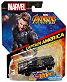 Hot Wheels Character Cars 2018 - Marvel Avengers Infinity War - Captain America