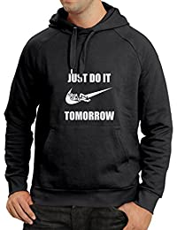 N4095H sudadera con capucha Just Do It Tomorrow gift