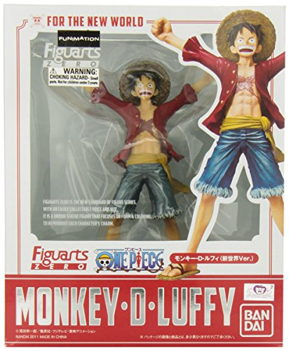 Figurine 'One Piece' - Zero - Luffy New World Figuarts