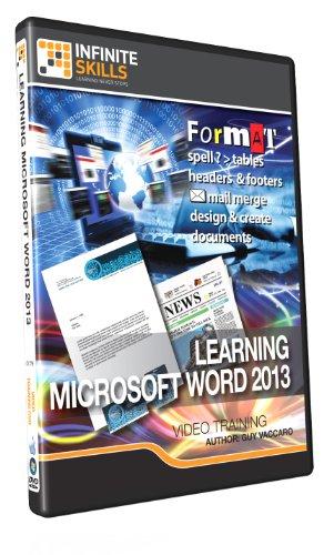 Learning Microsoft Word 2013 - Training DVD Test