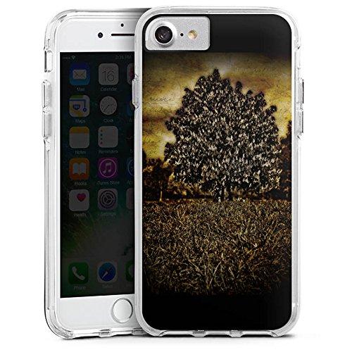 Apple iPhone 6 Bumper Hülle Bumper Case Glitzer Hülle Tree Baum Mystik Bumper Case transparent