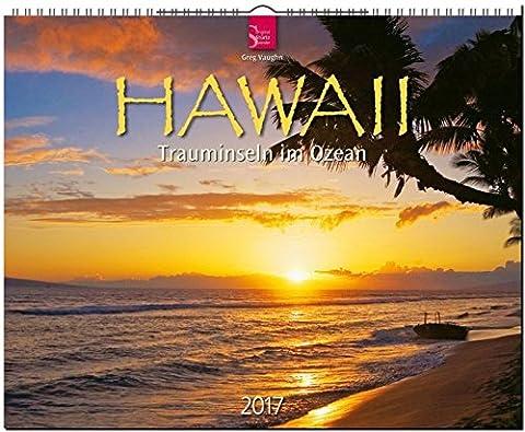 HAWAII - Trauminseln im Ozean - Original Stürtz-Kalender 2017 - Großformat-Kalender 60 x 48 cm (Insel Molokai Hawaii)
