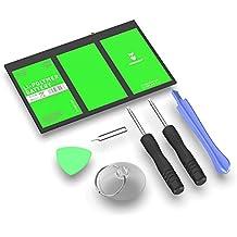 Hagnaven® Batterie Li-polymère compatible avec Apple iPad 3 et iPad 4   LA PLUS PERFORMANTE batterie de remplacement incluant des outils   PUISSANCE DU GRAND NORD   11650mAh CELLULES DE HAUTE QUALITÉ