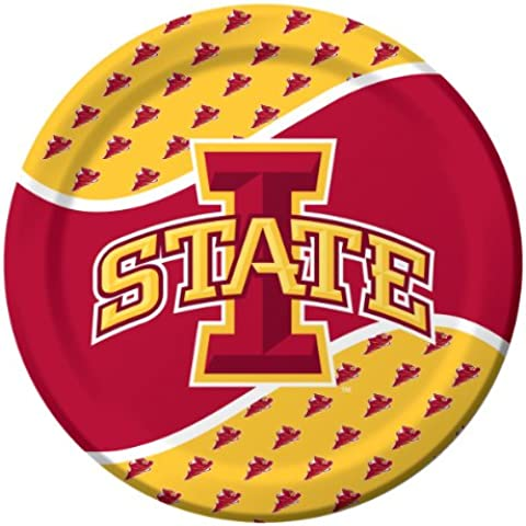 Midwest Collegiate 9-inch redondo plate-parent Iowa State Univ