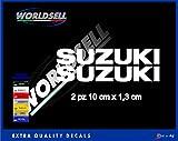 Pegatinas SUZUKI GSX-R 600 750 1000 GSR 650 SV INTRUSO BURGMAN V POTENCIA (blanco)