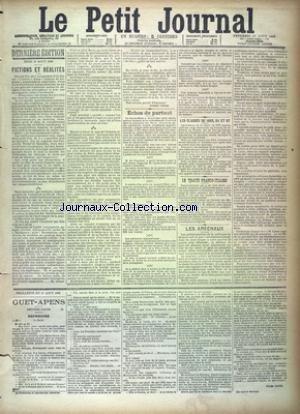 PETIT JOURNAL (LE) [No 9366] du 17/08/1888