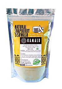 Kamalu Natural Dishwash Powder (250 grams)No more smelly bottles - Handmade powder
