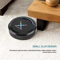 XuBa Robot de Limpieza Automático de Barrido Inteligente Piso Suciedad Polvo Limpiador Hogar Aspiradores Eléctricos