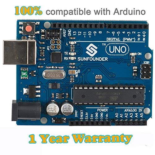 SunFounder Neu Uno R3 für Arduino ATMEGA328P ATmega16U2 2012 Version