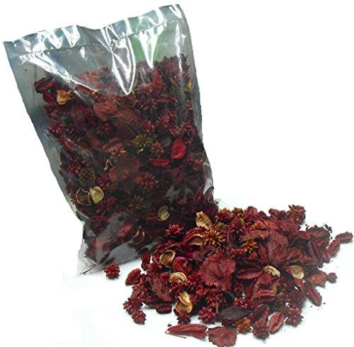 """Thermovip Popurrí perfumado de flores secas """"Rojo"""". Formato económico bolsa de 150gr."""