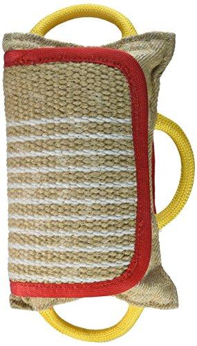 Artikelbild: Dean & Tyler Pro Bite Natural Color Jute, extra breit Pad Halsband, 14,5von 26,7cm