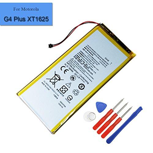 Batteria interna SNN5970A per Motorola G4 Plus XT1625, 2810 mAh, 3,8 V, GA40