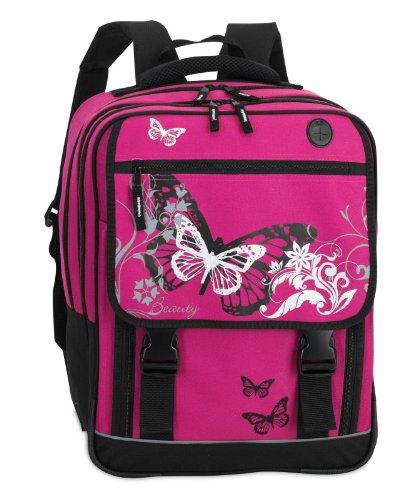 """Fabrizio Schulrucksack """" Butterfly"""" pink"""