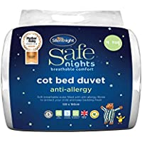 Silentnight Safe Nights 4 Tog Anti-Allergy Cot Bed Duvet - ukpricecomparsion.eu