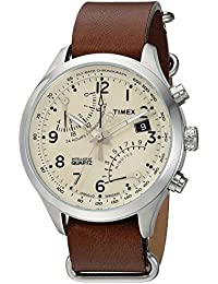 Timex Intelligent Quartz Fly-Back cronógrafo Reloj bee0e987c2c0