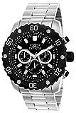 Invicta Pro Diver Men's Chronograph Quartz Watch with Stainless Steel Bracelet – 22516