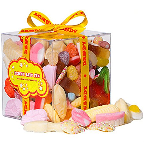 Retro Sweets and Candy Penny Mix Gift Cube - A Great Gift For Anyone