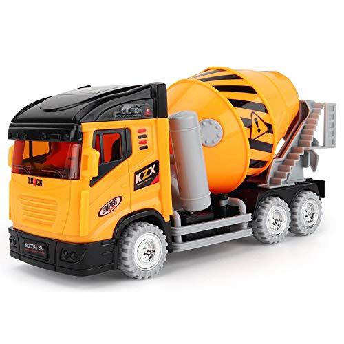 Xyanzi Kinderspielzeug BAU Spielzeug Fahrzeug Für Kinder Kinder LKW Spielzeug Trägheit Engineering Fahrzeug Spielzeug Junge Mädchen Simulation Betonmischer (Spielzeug-betonmischer Für Jungen)
