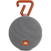 JBL Clip 2 Enceinte Etanche Ultra-Portable Bluetooth - Gris