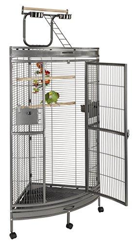 Liberta UK Discovery Eck-Papageienkäfig, mittel
