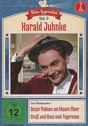 Harald Juhnke - Unter Palmen am blauen Meer/Gruß und Kuss vom Tegernsee - Kino-Legenden Vol. 9 [2 DVDs]