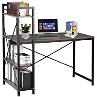 HUISEN&HosHo Estantes de escritorio para ordenador portátil con soporte de sobremesa para casa oficina estación de