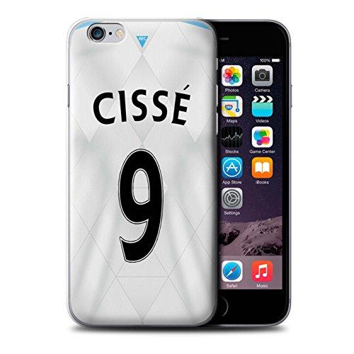 Offiziell Newcastle United FC Hülle / Case für Apple iPhone 6+/Plus 5.5 / Pack 29pcs Muster / NUFC Trikot Away 15/16 Kollektion Cissé