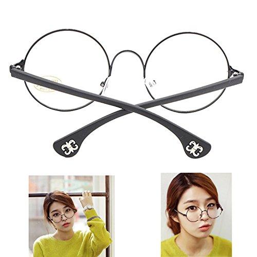 modische-vintage-metallrahmen-glaser-runden-kreis-brillen-ebenenspiegel-schwarz