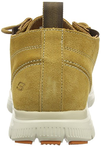Skechers Hinton Franken, Baskets Basses Homme Marron (wtn)