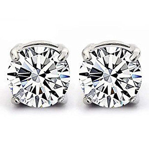 925-sterling-silver-stud-earrings-set-with-6mm-cubic-zirconia-stonesbeautiful-jewellery-for-special