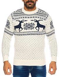 Raff Taff Herren Strickpullover Sweater Hoodie Wollpullover   M - 5XL    Norweger Island Pullover Weihnachten Winter 53eb453b3b