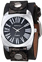 Nemesis Men's 098FBNK Retro Roman Series Analog Display Japanese Quartz Brown Watch