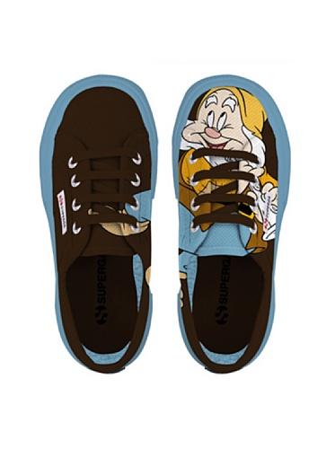 Scarpe Le Superga - Cartoon 2750-disney Gongolcobj - Bambini GONGOLO DK COFFEE