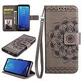 COWX Samsung Galaxy S8 Plus Hülle Kunstleder Tasche Flip im Bookstyle Klapphülle mit Weiche Silikon Handyhalter PU Lederhülle für Samsung Galaxy S8 Plus Tasche Brieftasche Schutzhülle für Samsung Galaxy S8 Plus schutzhülle