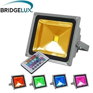 Projecteur led - Projecteur LED extérieur - 20W - RGB - Multicolore