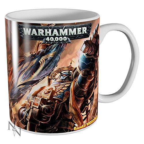 Games workshop: Warhammer 40,000Ultramarines tazza in ceramica