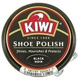 Kiwi Shoe Polish, 50 ml Dose, schwarz