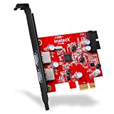 Inateck 2-Port PCI-E USB 3.0 Express Card, Mini PCI-E USB...