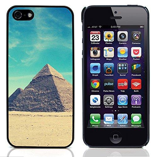 Graphic4You Monaco Postkarte Ansichtskarte Design Harte Hülle Case Tasche Schutzhülle für Apple iPhone 5 und 5S Design #3