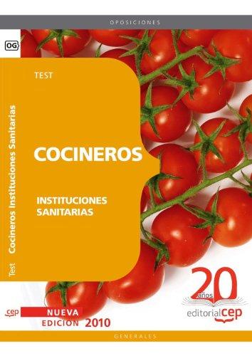 Cocineros de Instituciones Sanitarias. Test (Colección 1181) por VV.AA.