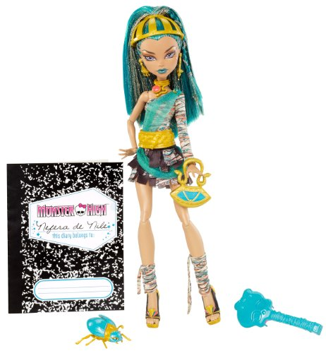 (Mattel X4632 - Monster High Nefera, Puppe)