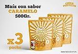 Maíz con Sabor Dulce para Palomitas Corn Poppets Bag Pack de 3 Unidades
