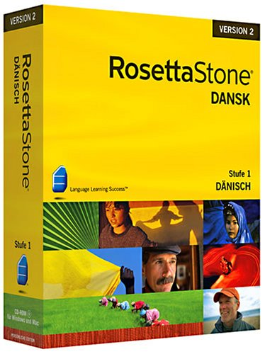 Rosetta Stone v2 Dänsich Level 1 (PC+MAC)